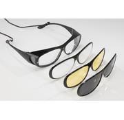 Westfalia Westfalia Veiligheidsbril met 3 verwisselbare frames