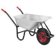 Deuba XXL Gardebruk Kruiwagen met kuip 100l - 250kg - Draagvermogen met luchtwiel 40cm