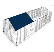 Cadoca Cadoca konijnenhok | Vrijloopkast | Inclusief zonwering |  180 x 75 x 75 cm