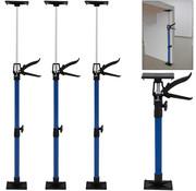 Deuba Deuba Stalen Deurkozijnspanner/Kozijnspanner set van 3 | 50-115cm | max. 30kg