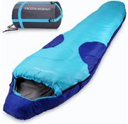 Deuba Deuba Frozen Mummy slaapzak tot -21°C blauw