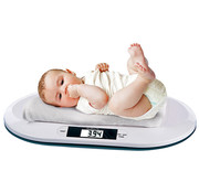 Deuba Deuba Babyweegschaal Digitaal BC-15 | Baby en Peuterweegschaal | max 20 kg | 55 cm