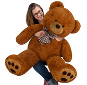 Deuba Deuba knuffelbeer XL bruin