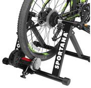 Deuba XXL Fietstrainer binnen - Roltrainer fiets tot 150kg magneet