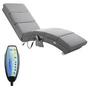 Casaria Casaria Relax Lounger - grijs met massage- & verwarmingsfunctie