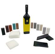 Laminatefixer Reparatieset voor tegels met 11 kleuren Hard Wax staven