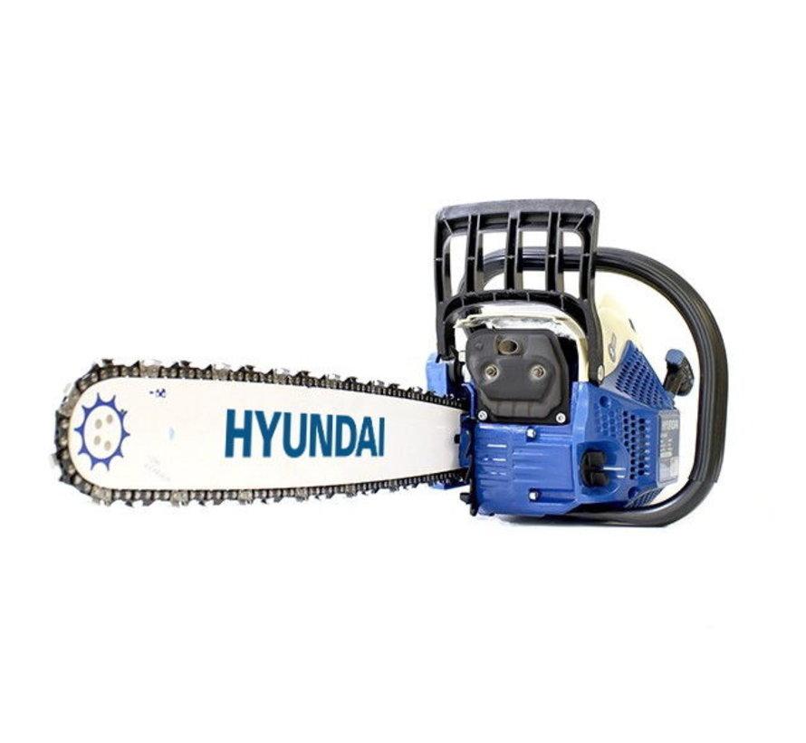 Hyundai Kettingzaag met 62cc benzinemotor