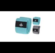 Fitgirl Weerstandsband voor fitness licht 2 kg - Rubber - Turquoise