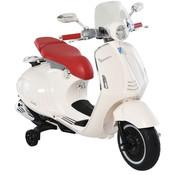 Vespa Vespa 946 Primavera GTS Elektrisch voertuig 12V  - Kinderscooter met MP3-muziek verlichting 3-6 jaar - Wit