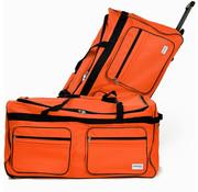 Deuba Deuba XXL Reistas met trolley-functie oranje 160 LITER