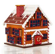 Spielwerk Spielwerk Adventskalender als winterhuisje - navulbaar & herbruikbaar