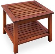 Casaria Bijzettafel/houten tafel Washington van voorgeolied acaciahout