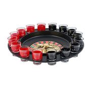Koopman Roulette drankspel COV-19 | 16 shotglaasjes | 2 personen | Spin it to win it