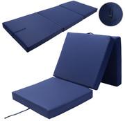 Detex Detex Matras blauw 190x70x10cm opvouwbaar