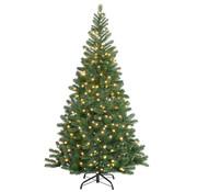 Casaria Casaria Kunstmatige kerstboom 140cm incl. lichtketting