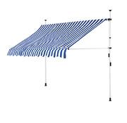 Detex Detex Klem luifel blauw/wit 250cm