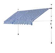 Detex Detex klem luifel blauw/wit 350cm