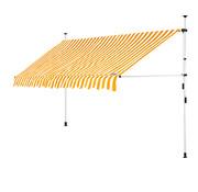 Detex Detex klem luifel Geel/Wit 350cm