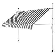 Detex Detex klem luifel Wit/Grijs 350cm