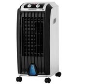 Monzana Monzana Mobiele aircooler wit/zwart 5L incl. timer. afstandsbediening & 2 koelelementen