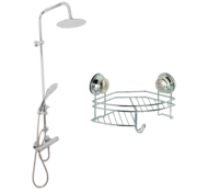 EDCO EDCO Bath & Shower Regendouche + Handdouche (Rond) INCLUSIEF Doucherek