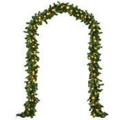 Deuba Deuba Kerstmis slinger MET verlichting 5M Garland  In-/Outdoor