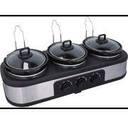 EDCO Dunlop Slow cooker 300W 3x 1.3 liter