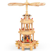 Deuba Deuba Kerstpiramide 31cm (echt hout)