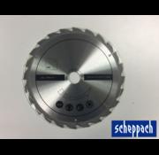 Scheppach Scheppach Cirkelzaagblad 24T 250x30 mm - Geschikt voor HS100S