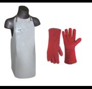 GYS GYS Leren schort MET handschoenen Multifunctioneel