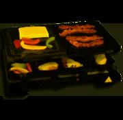 EDCO Cuisinier Raclette-n-Stone & Grill Party | voor 8 personen