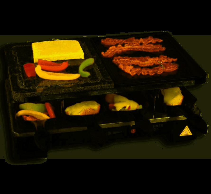 Cuisinier Raclette-n-Stone & Grill Party | voor 8 personen