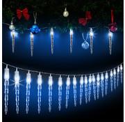 Deuba Deuba Lichtketting Kerstmis ijspegel 40 LED's 10,5m