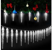 Monzana Monzana Lichtketting Kerstmis ijspegel 40 LED's 10,4m