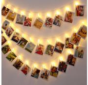 Monzana Monzana lichtketting voor foto 5,2m met 42 clips en afstandsbediening