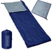 Deuba Deuba Freshman slaapzak donkerblauw - 190x75cm tot -6°C