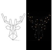 Casaria Casaria LED Rendierkerst Metaal Warm Wit