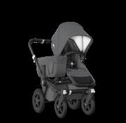 Bugaboo Bugaboo Donkey2 Classic Mono - Kinderwagen  Compleet - ZWART/GREY MELANGE