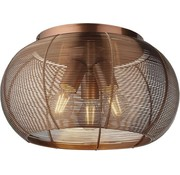 Brilliant Briljant Plafondlamp bruin 40cm - Geschikt voor LED-lampen