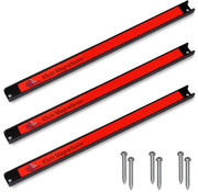 Deuba Deuba Magneetstrip set van 3 - 45cm incl. bevestigingsmateriaal