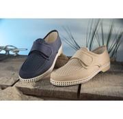 Generic Luchtige schoenen met klittenband marineblauw maat 44