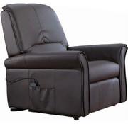Generic Relaxfauteuil massagestoel met  verwarmings en liftfunctie - Zwart