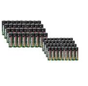 Camelion Zink-kool batterijen voordeelset AA/AAA 72-delig