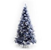 HOMCOM HOMCOM Kerstboom 210cm INCLUSIEF decoratie en standaard