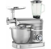 Herenthal Herenthal Keukenmachine 2200W - 3 in 1 - Zilver