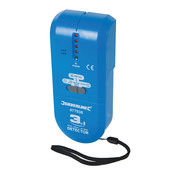 Silverline Silverline 3-in-1 detector, compact 1 x 9 V (PP3)