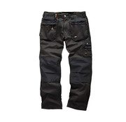 Scruffs Scruffs Werkbroek 'Worker Plus', zwart 32S