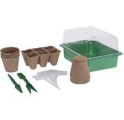 Pro Garden Pro Garden Moestuintjes/ Kweekset 17-delig - planten, bloemen, kruiden kweken - beginners/kinderen