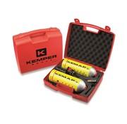 Kemper Kemper Soldeerbout Hardsoldeerset in koffer - 2400 °C - incl. 2 hard- en zachtsoldeerpatronen