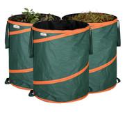 Gardebruk Gardebruk Popup tuinzak Set van 3 groene 85 liter per stuk